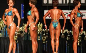 Stage Photo's from Lisa's Second Competition