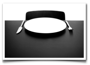 empty-plate-framed