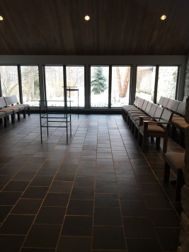 The chapel itself.